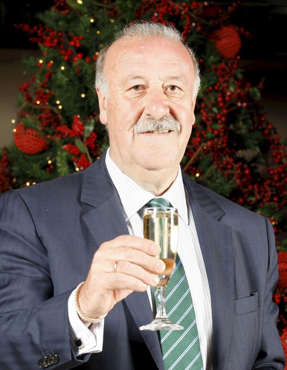 Del Bosque, votado mejor seleccionador por la IFFHS