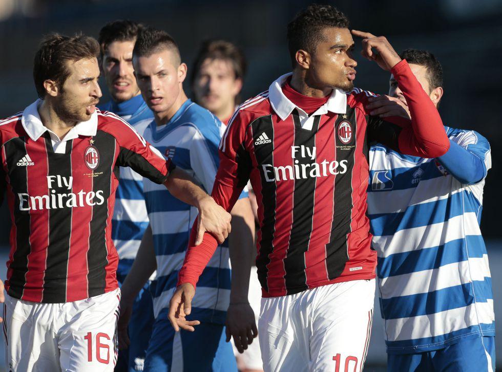 El Milán se retiró del campo del Pro Patria por insultos racistas