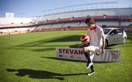 """Stevanovic: """"El Sevilla es un paso de gigante en mi carrera"""""""