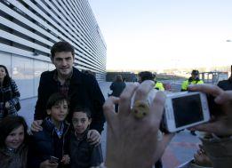 """Los niños a Casillas: """"¿Vas a ser titular el próximo partido?"""""""