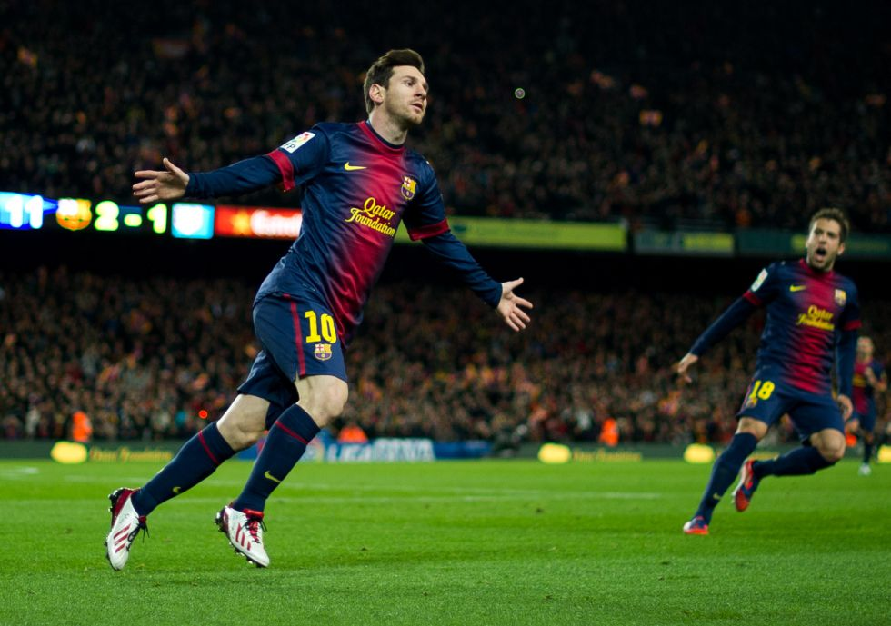 El Barça puede superar los 100 puntos y 121 goles del Madrid