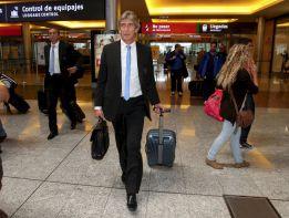 Pellegrini regresó a Málaga y prepara el partido en A Coruña