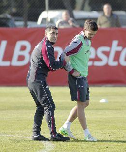 """Valverde: """"Gago es jugador del Valencia y cuento con él"""""""