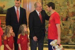 """Iker Casillas y su anécdota con el Rey: """"Me pidió una foto"""""""