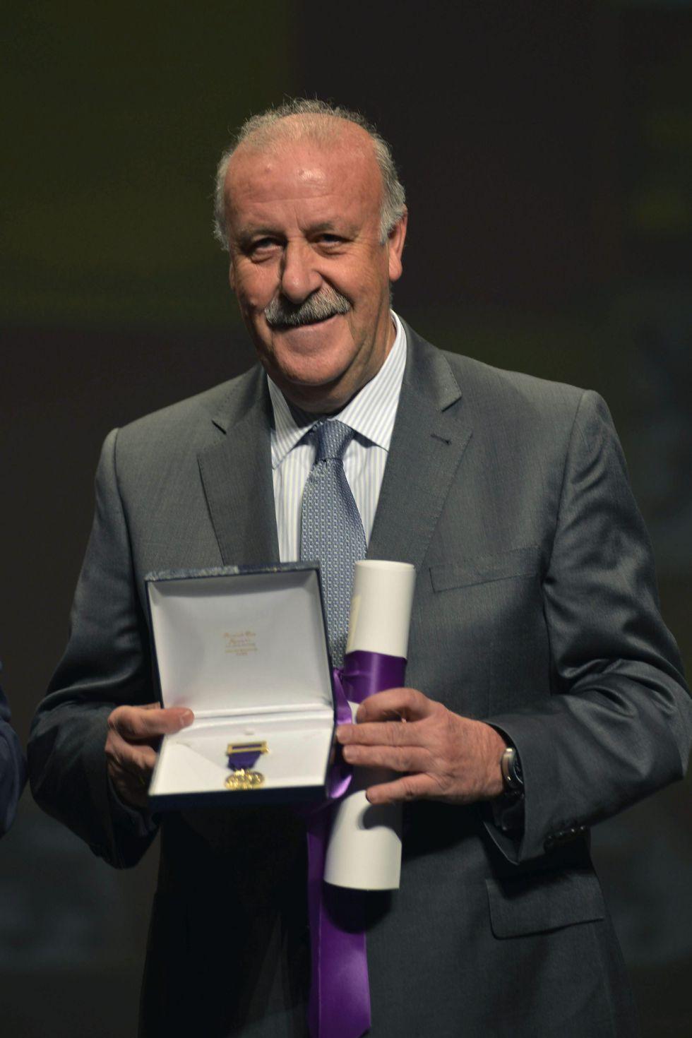 """Del Bosque: """"El Rey siempre ha estado al lado de la Selección"""""""