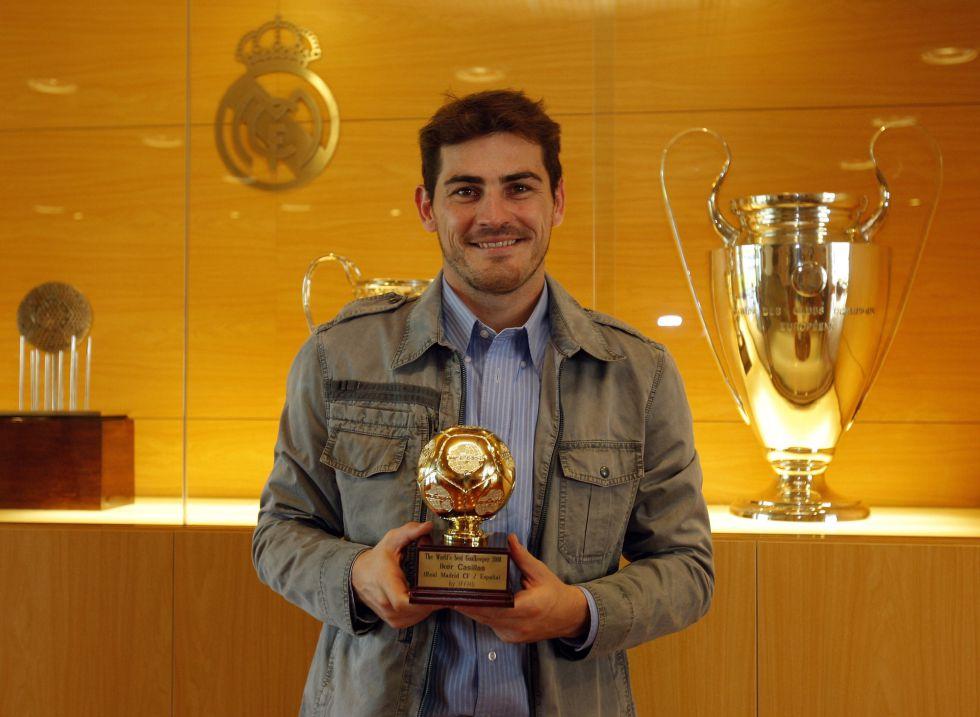 IFFHS: Casillas, a un punto de ser el mejor del siglo XXI