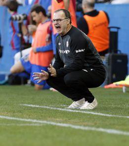 """Bielsa: """"El Levante no fue el que suele pero aun así nos ganó"""""""