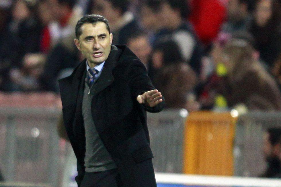 """Valverde: """"Mikel Rico hizo mano y frenaba un contragolpe..."""""""