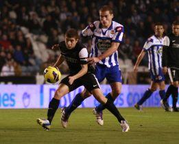 El Deportivo se transforma con Domingos y frena al Málaga