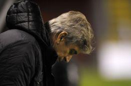 "Pellegrini afirma que su equipo perdió por ""un error infantil"""