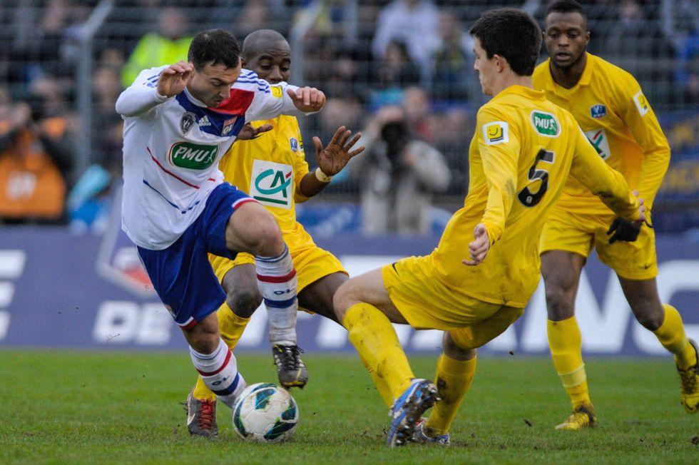 Lyon, Bastia y Rennes dicen adiós a la Copa de Francia