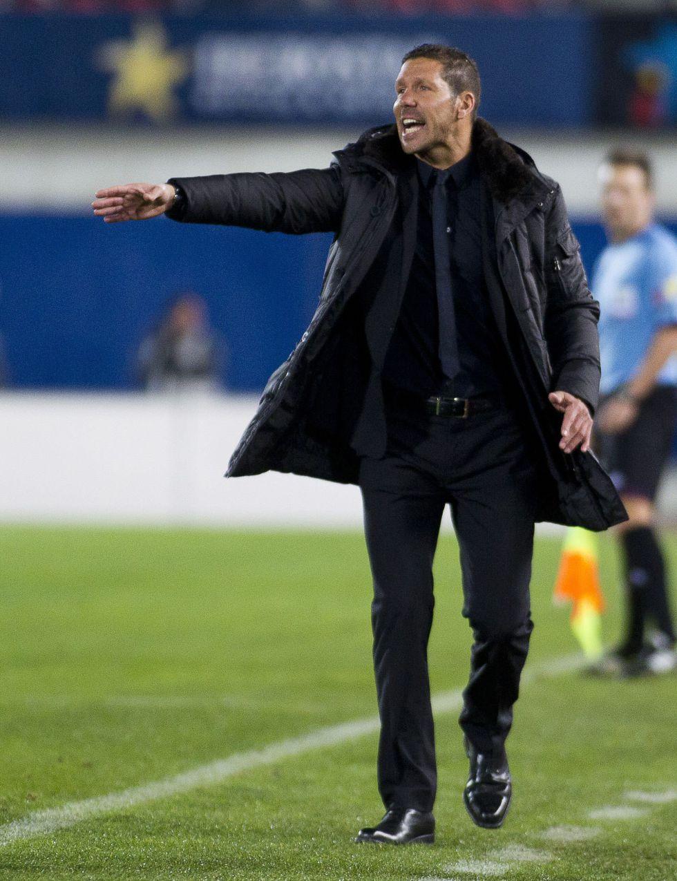 """Simeone: """"A pesar del empate, me quedó una buena sensación"""""""
