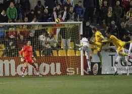 Oriol Riera capitaneó la remontada del Alcorcón