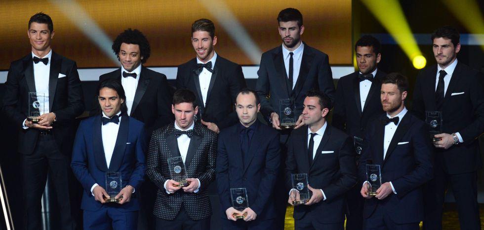 Iker Casillas, mejor portero del mundo en 2012 para la FIFA