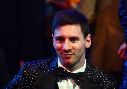 Messi, Balón de Oro 2012