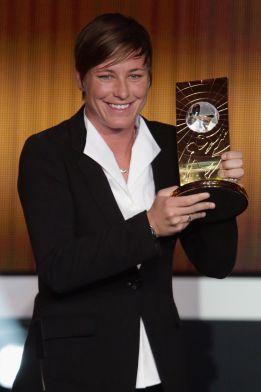 Abby Wambach es nombrada ''Jugadora del Año de la FIFA''