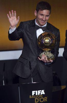 Los lectores de L'Equipe creen que Messi ganará el quinto