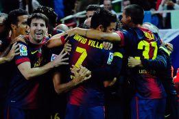 Un Barcelona con exceso de delanteros para el año 2013