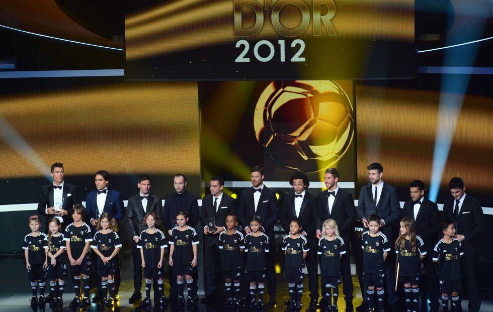 El fútbol mundial corona a Leo Messi, Del Bosque y la Liga