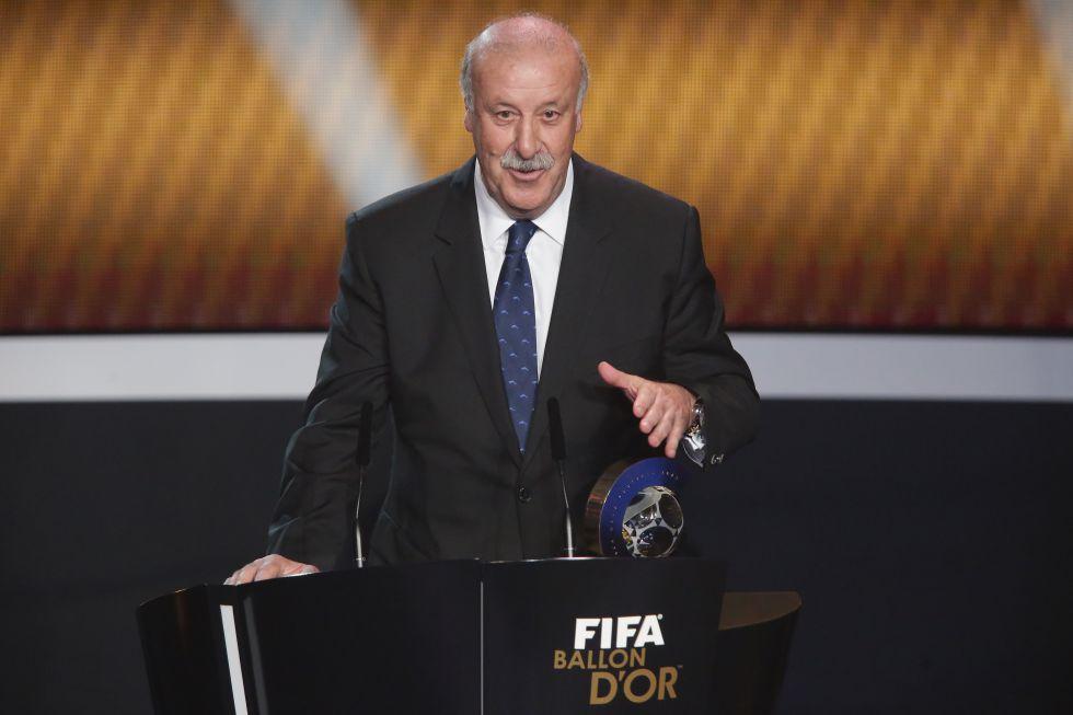"""Vicente del Bosque: """"Hay que trasladar al fútbol la mejor ética"""""""