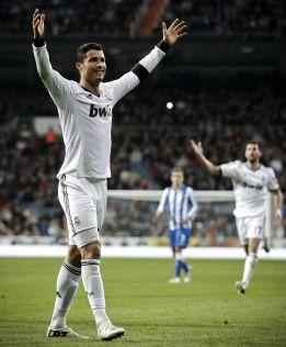 Cristiano Ronaldo supera los 172 goles marcados por Pirri