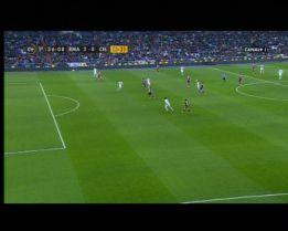 Ayza Gámez impidió el 3-0 de Cristiano: no era fuera de juego