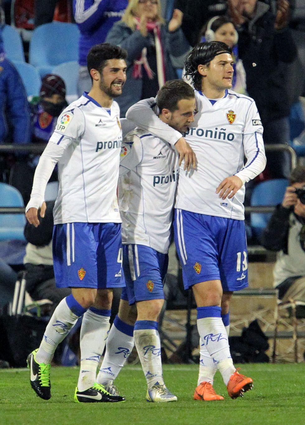El Zaragoza accede a cuartos en la Copa y refuerza su moral