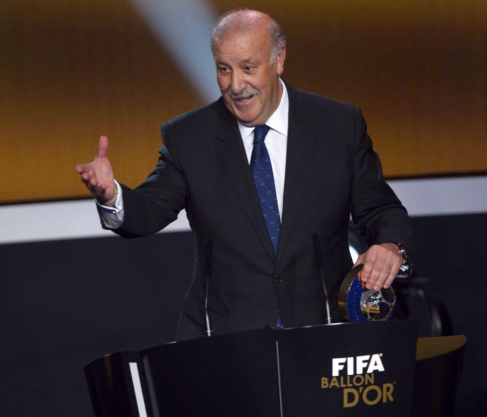 Joseph Blatter agradeció el mensaje de Vicente del Bosque