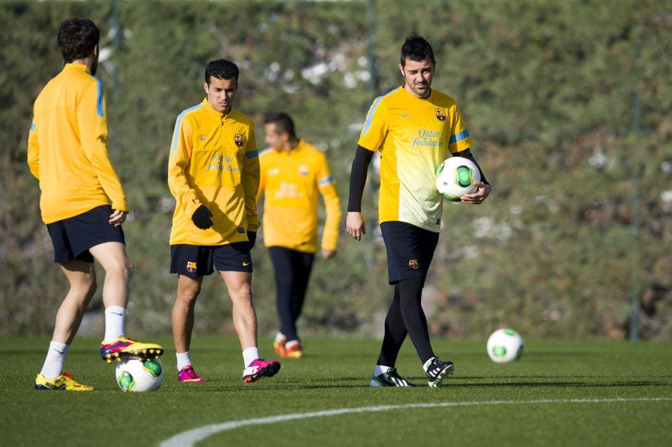 Xavi, Iniesta, Piqué y Pedro descansarán contra el Córdoba