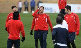 Stevanovic, principal novedad para el partido ante el Mallorca
