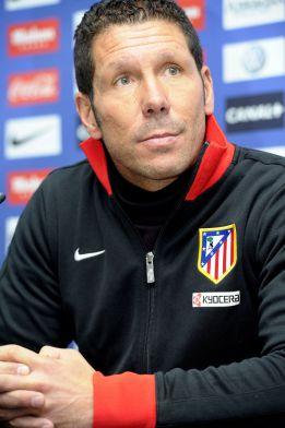 """Simeone: """"Hicimos el partido que teníamos que hacer"""""""