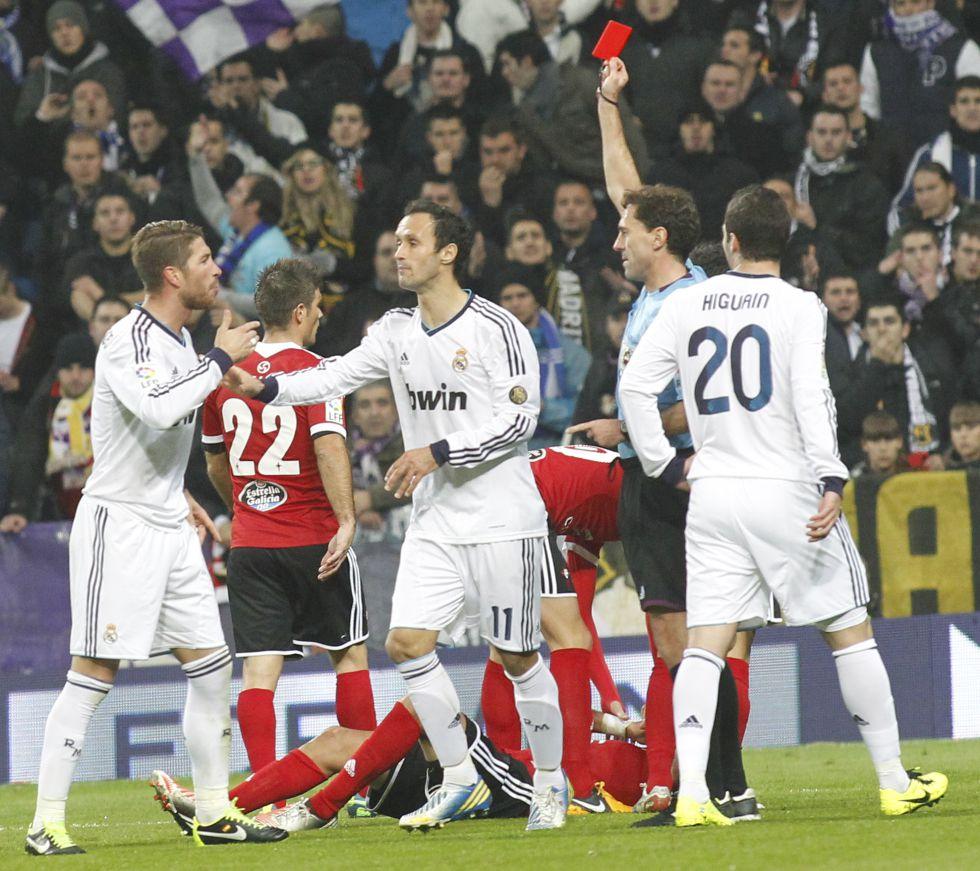 Cinco partidos a Sergio Ramos, al que no le salvó su tuit