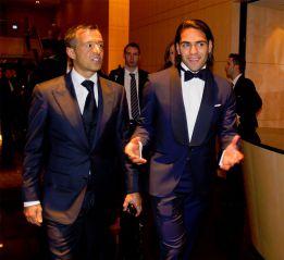Según 'Vozpópuli', Florentino comió con Falcao y Mendes