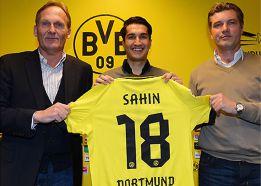 Sahin regresa al Dortmund