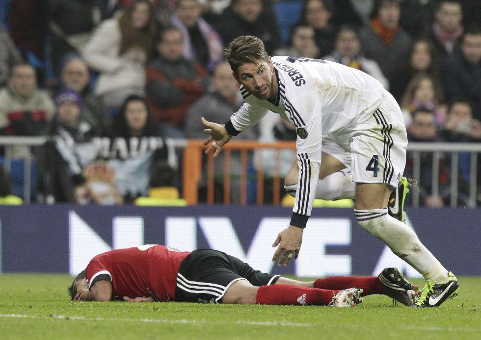 El Madrid recurre el castigo de cinco partidos a Sergio Ramos