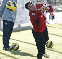 Andrés Fernández está en la órbita del Real Madrid