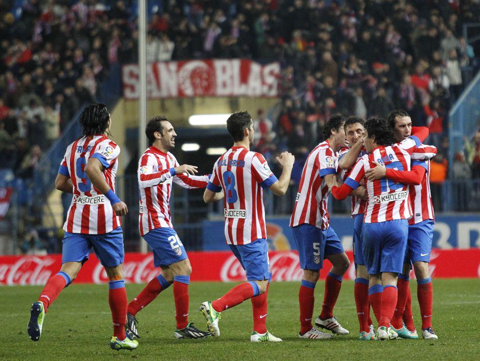 El Atlético termina segundo la primera vuelta tras 22 años