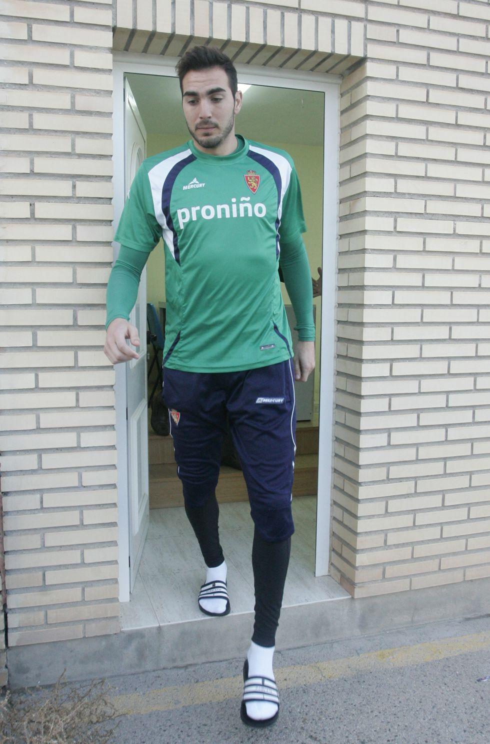 Roberto vuelve al Calderon ante la atenta mirada de Caminero