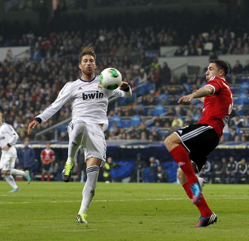 La afición se divide sobre la sanción a Sergio Ramos
