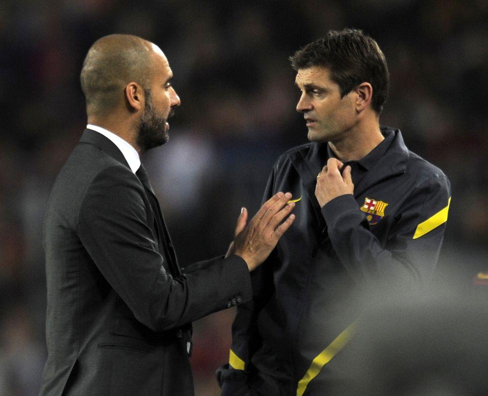Vilanova estará en el partido del Barcelona en Málaga