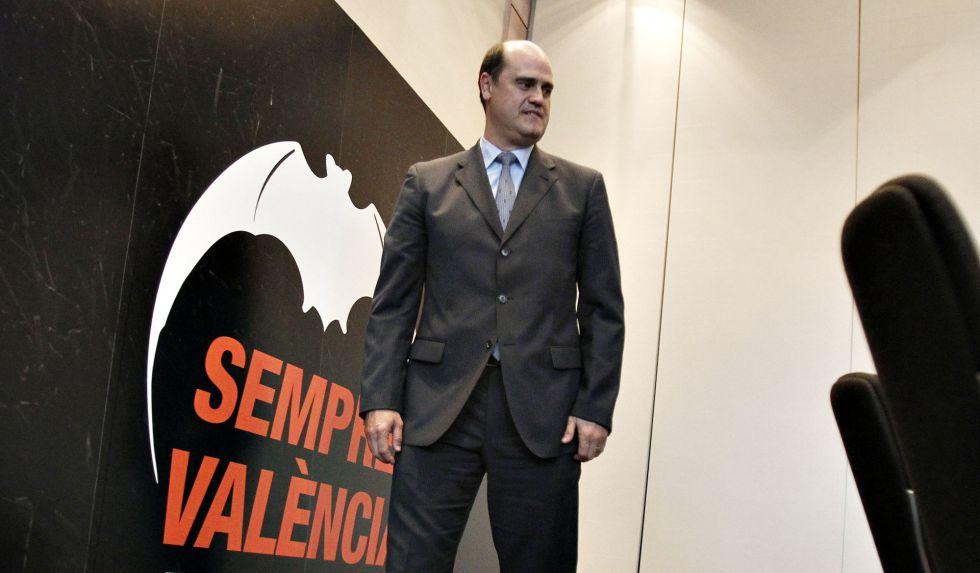 Fernando Gómez afirma que su plan para el Valencia es legal