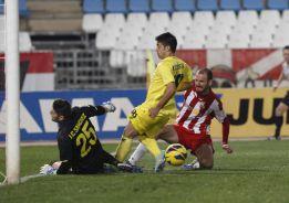 Tablas entre Almería y Villarreal que no satisfacen a nadie