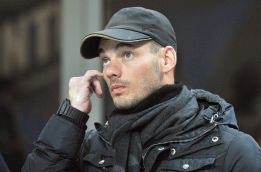 """""""¿Sneijder al Galatasaray? ¿De dónde van a sacar el dinero?"""""""