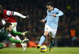 Demasiado City para un Arsenal con diez desde el minuto 9