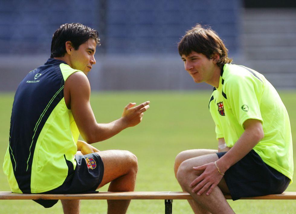 Leo Messi nunca olvidó aquel regalo de Javier Saviola