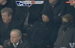 Mou fue a Old Trafford a ver en directo a su rival de Champions