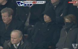 Mou fue a Old Trafford a ver en directo a su rival de Champions