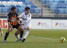 El Real Madrid Castilla y el Girona se quedan sin puntería