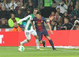 Villa, baja casi segura del Barça para la ida ante el Málaga