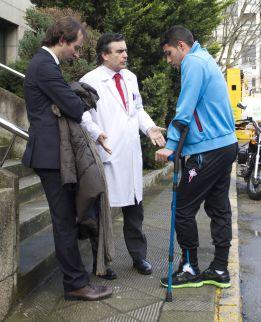 Hugo Mallo será operado este jueves de la rodilla izquierda